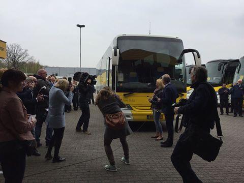 De oad bus onthuld