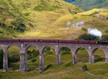 Schotland Glenfinnan Viaduct Harry Potter
