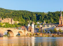 Duitsland ervaar de Duitse rivieren
